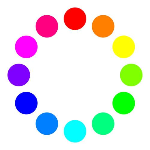 色相環RGB